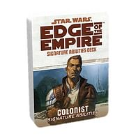 Star Wars: Edge of the Empire - Colonist Signature Abilities Specialization Deck