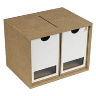 Stojan a modul na barvy (2 zásuvky)