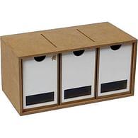 Stojan a modul na barvy (3 zásuvky)