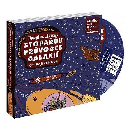 Stopařův průvodce galaxií - audiokniha (5 CD)