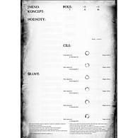 Střepy Snů - deník postavy