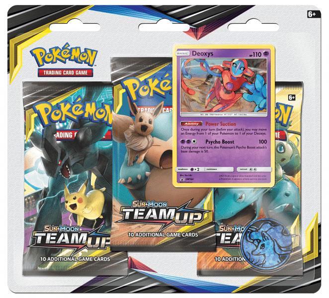 Pokémon: Sun and Moon 9 - Team Up 3 Pack Blister A