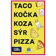 Taco, kočka, koza, sýr, pizza