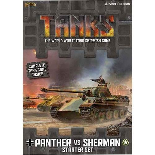 Tanks: Panther vs Sherman (startovní sada)