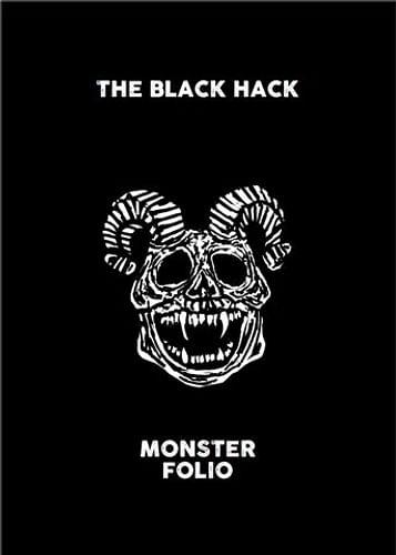 The Black Hack 2nd Edition Monster Folio (brožovaná)