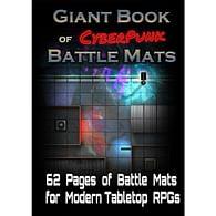 Giant Book Of CyberPunk Battle Mats
