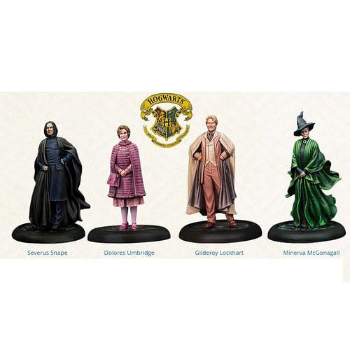 The Harry Potter Miniatures Adventure Game - Hogwarts Professors