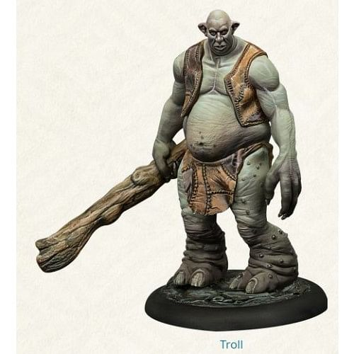 The Harry Potter Miniatures Adventure Game - Troll Adventure Pack