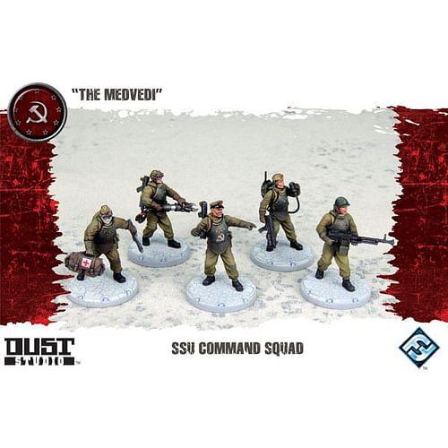 Dust Tactics: SSU Command Squad - The Medvedi