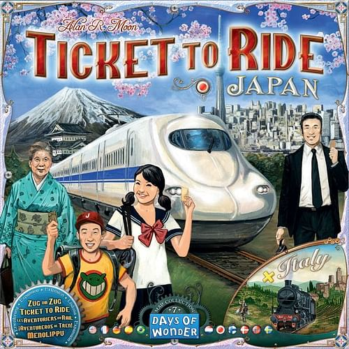 Ticket to Ride Map Collection 7 - Japan & Italy