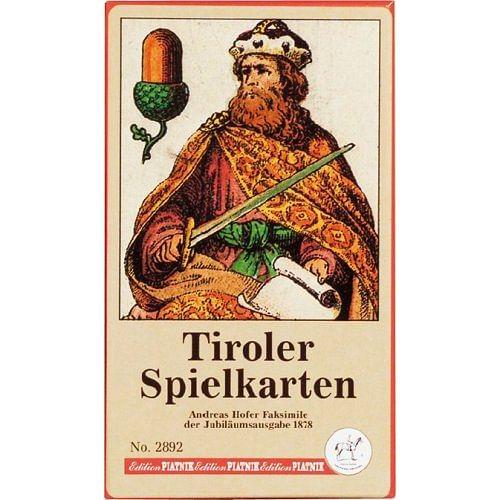 Hrací karty Tiroler Spielkarten