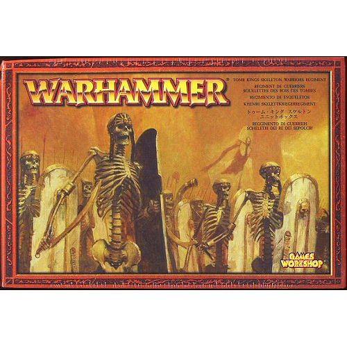 Warhammer Fantasy Battle: Tomb Kings Skeleton Warriors Regiment