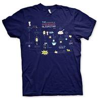 Tričko Big Bang Theory - The Friendship Minions Algorithm (navy blue)