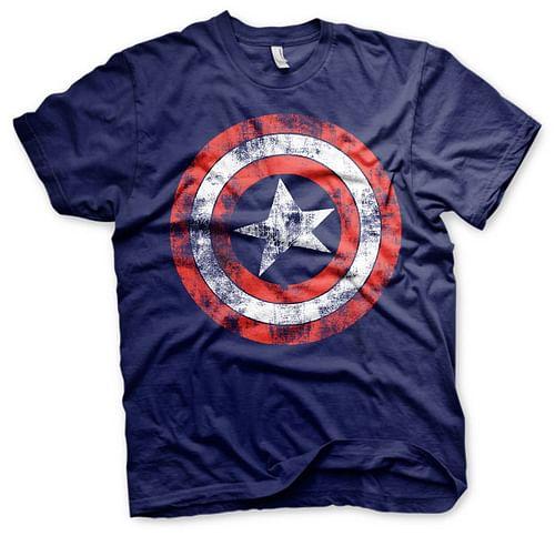 imago Tričko Captain America, barva modrá, velikost XL