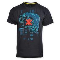 Tričko Cyberpunk 2077 - Trauma Team Combat Helmet