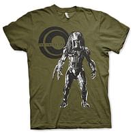 Tričko Predátor na lovu - olivové