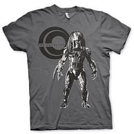 Tričko Predátor na lovu - tmavě šedé