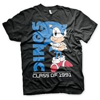 Tričko Sonic The Hedgehog - Class Of 1991