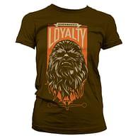 Tričko Star Wars - Chewbacca Loyalty (dámské)