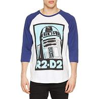 Tričko Star Wars - R2-D2, s třičtvrtečním rukávem