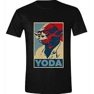 Tričko Star Wars - Yoda Poster