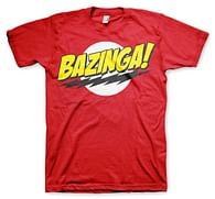 Tričko The Big Bang Theory: Bazinga - poškozené