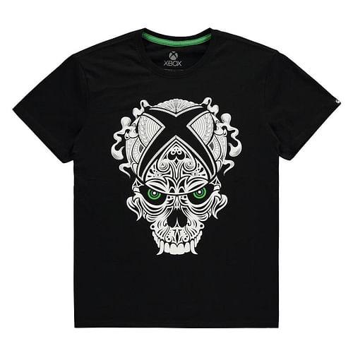 Difuzed - Bioworld Europe Tričko Xbox - Skull, barva černá, velikost S