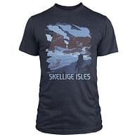 Tričko Zaklínač 3 - Skellige Isles