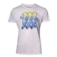 Tričko Fallout - Three Vault Boys