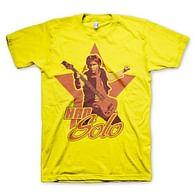 Tričko Star Wars Han Solo, žluté
