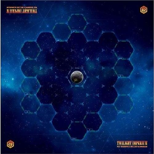 Twilight Imperium (čtvrtá edice) - herní podložka Galactic