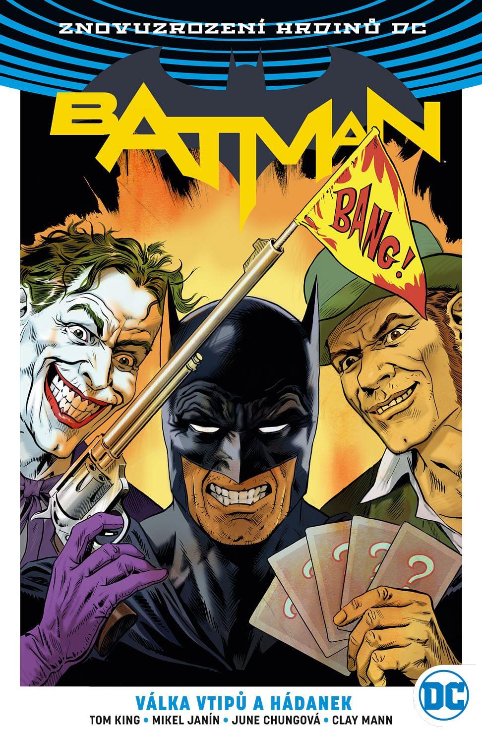 Batman 4: Válka vtipů a hádanek