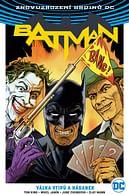 Batman 4: Válka vtipů a hádanek (alternativní obálka)