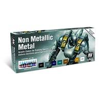 Vallejo: Game Color Set - Non Metalic Metal