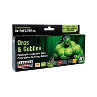 Vallejo: Game Color Set - Orc and Goblins