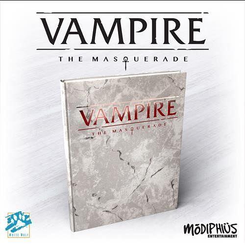 Vampire: The Masquerade 5th Edition Core Book Deluxe