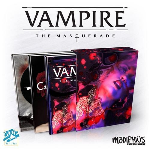Vampire: The Masquerade 5th Edition Slipcase Set