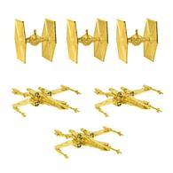 Vánoční ozdoby Star Wars (zlatá barva)