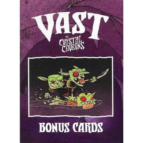 Vast: The Crystal Caverns - Bonus Cards