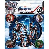 Vinylové samolepky Avengers: Endgame - Quantum Realm Suits