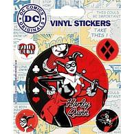 Vinylové samolepky Harley Quinn - Retro