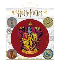 Vinylové samolepky Harry Potter - Nebelvír