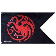 Vlajka Game of Thrones - Targaryen
