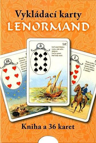 Vykládací karty Lenormand (kniha+karty)