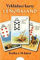 Vykládací karty Lenormand (kniha + karty)
