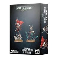 Warhammer 40000: Daemonifuge Ephrael Stern & Kyganil