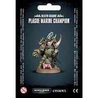 Warhammer 40000: Death Guard Plague Marine Champion
