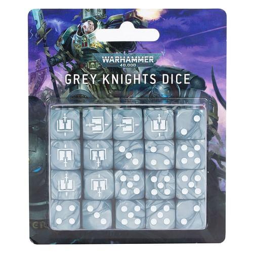 Warhammer 40000: Grey Knights Dice Set