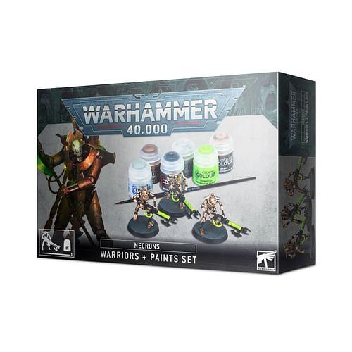 Warhammer 40000: Necrons Warriors + Paint Set