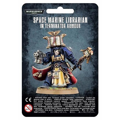 Warhammer 40000: Space Marine Librarian in Terminator Armour
